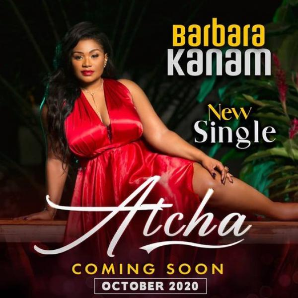 "L'affiche du single ""Atcha"" de Barbara Kanam"
